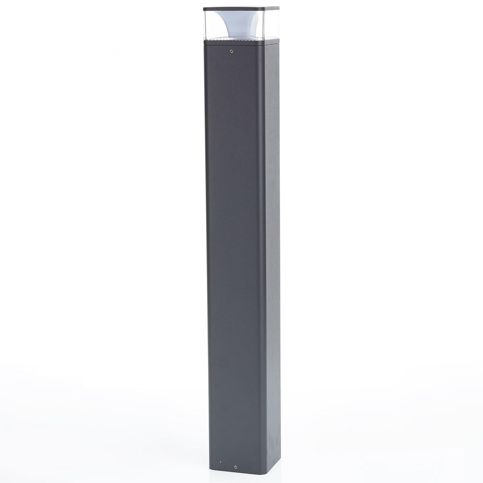 LED-pylväsvalaisin Lidia alumiinista