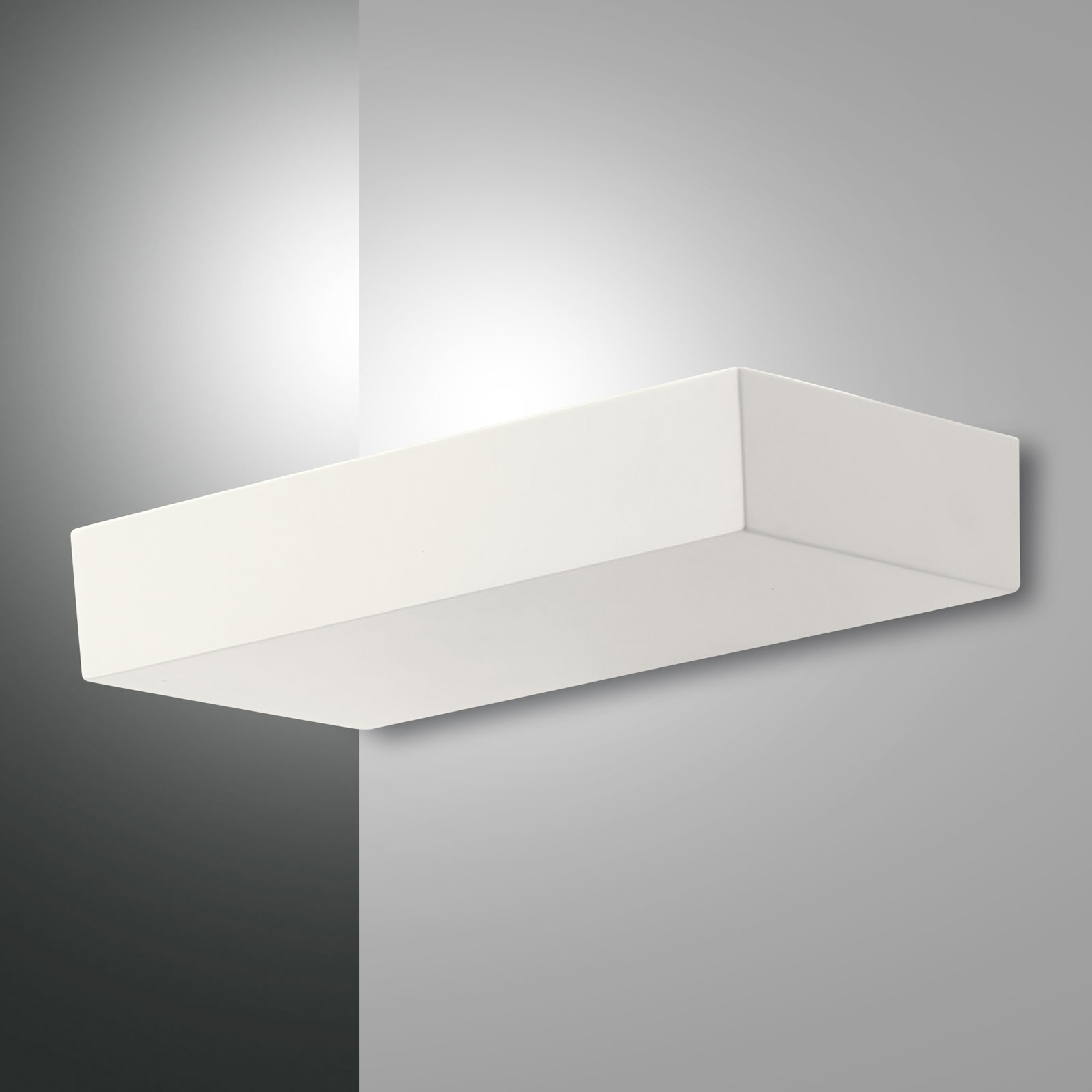 Applique LED Emma, blanc, dimmable, 41W