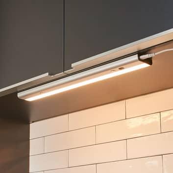 Lampe sous meuble LED Devin avec interrupteur