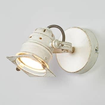 Spot Janek bianco con lampadina LED GU10