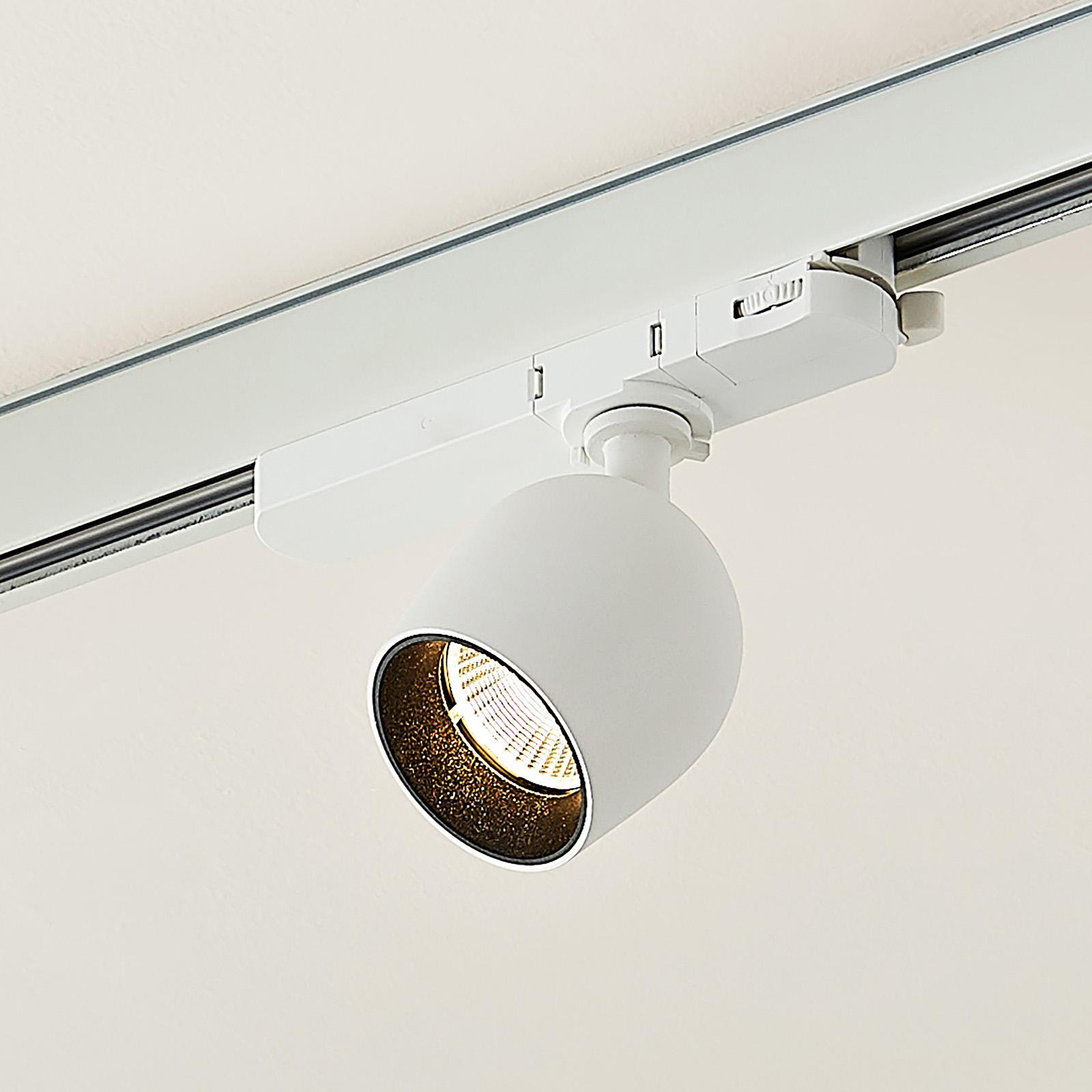 Arcchio Bartu reflektor szynowy LED, biały 3000K