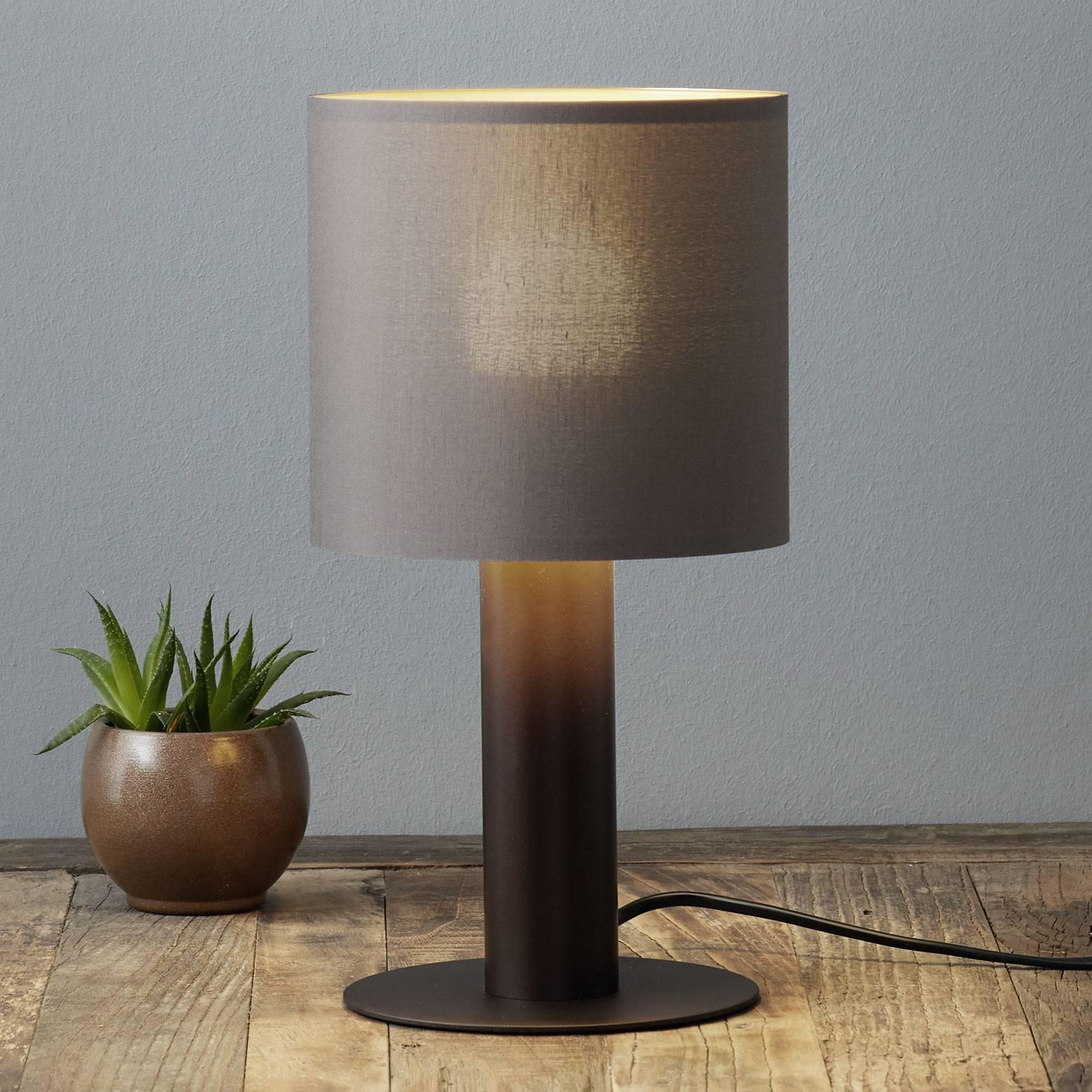 Tafellamp Concessa cappuccino/goud