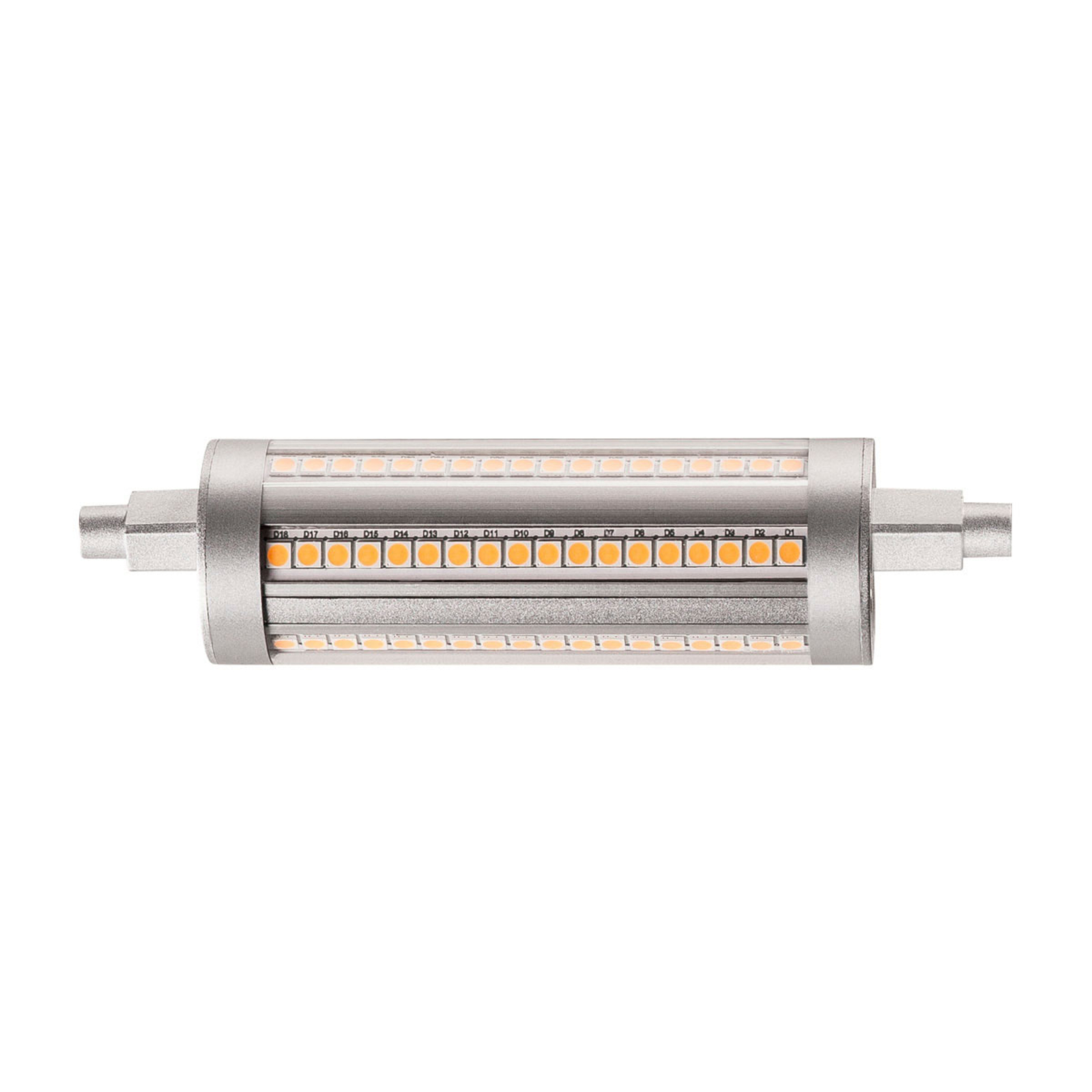 SLV LED-Lampe R7s QT-DE12 118mm 14W 3.000K dimmbar