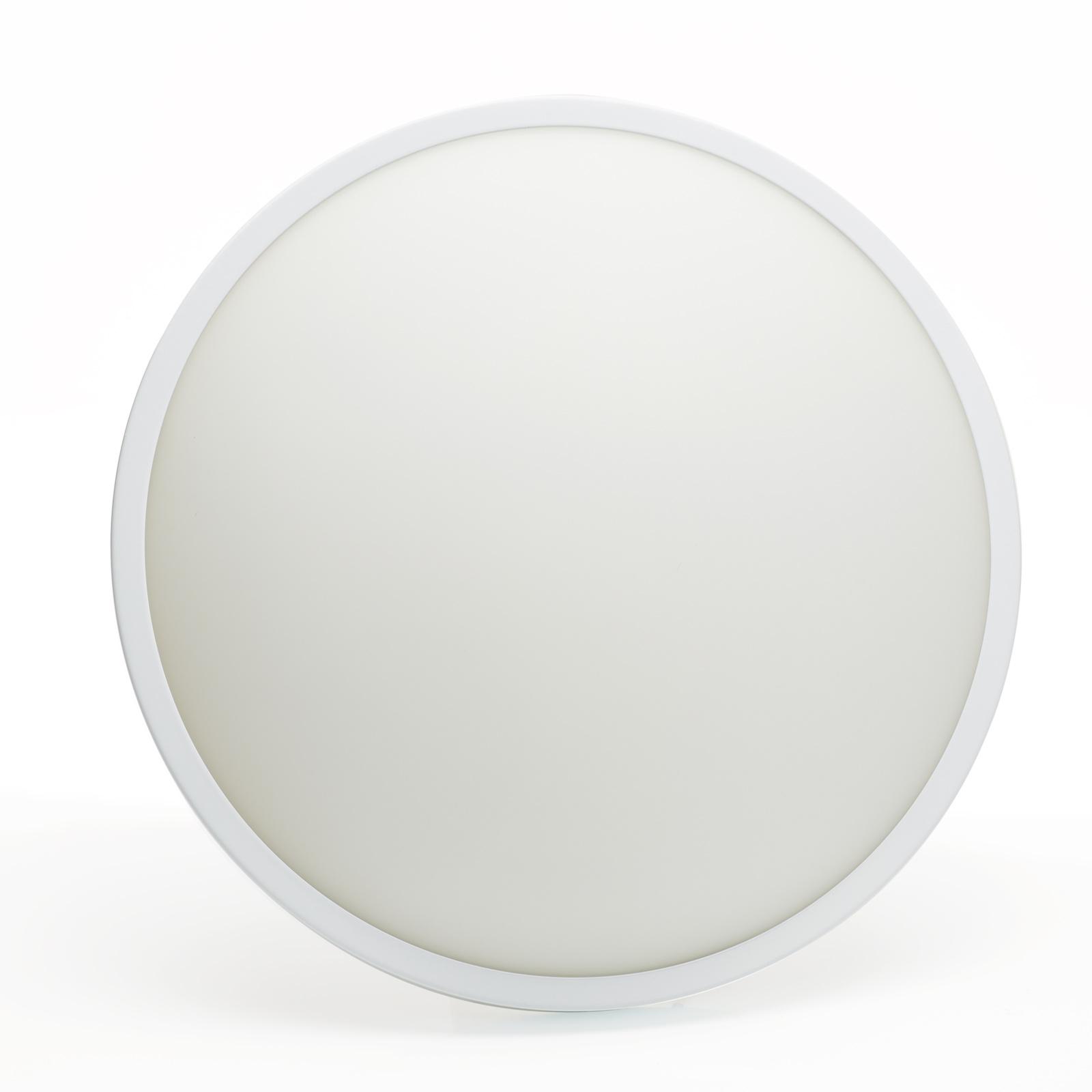 Stropné a nástenné svietidlo Plaza 31cm, biele