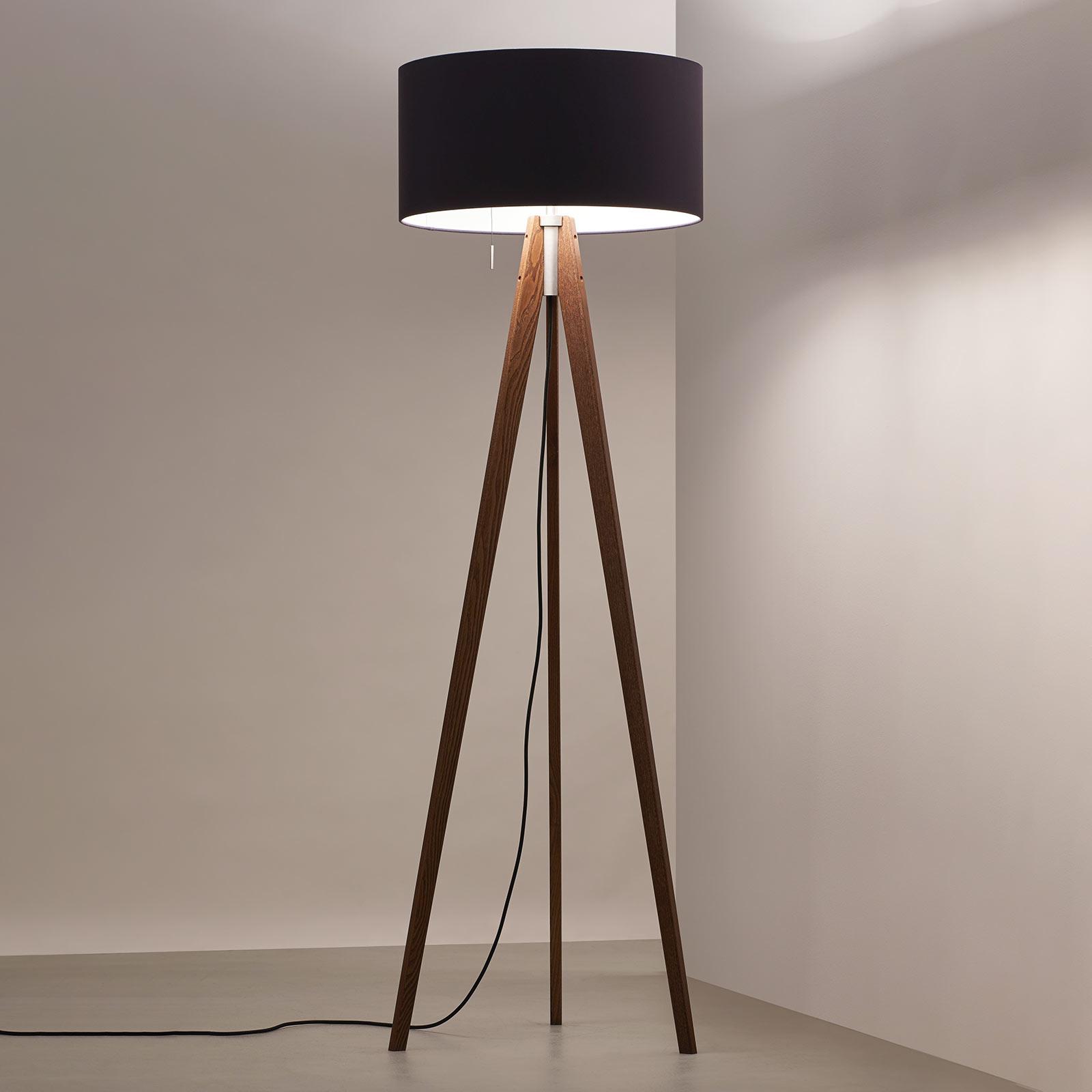 LED vloerlamp Vivaa Free Wood