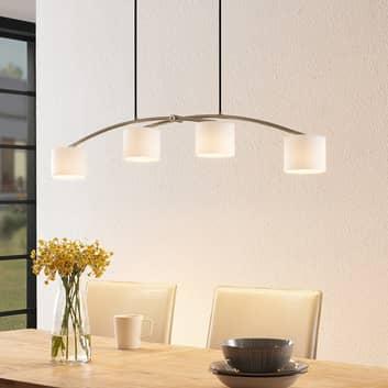 Lucande Juljana závěsné světlo, 4 žárovky