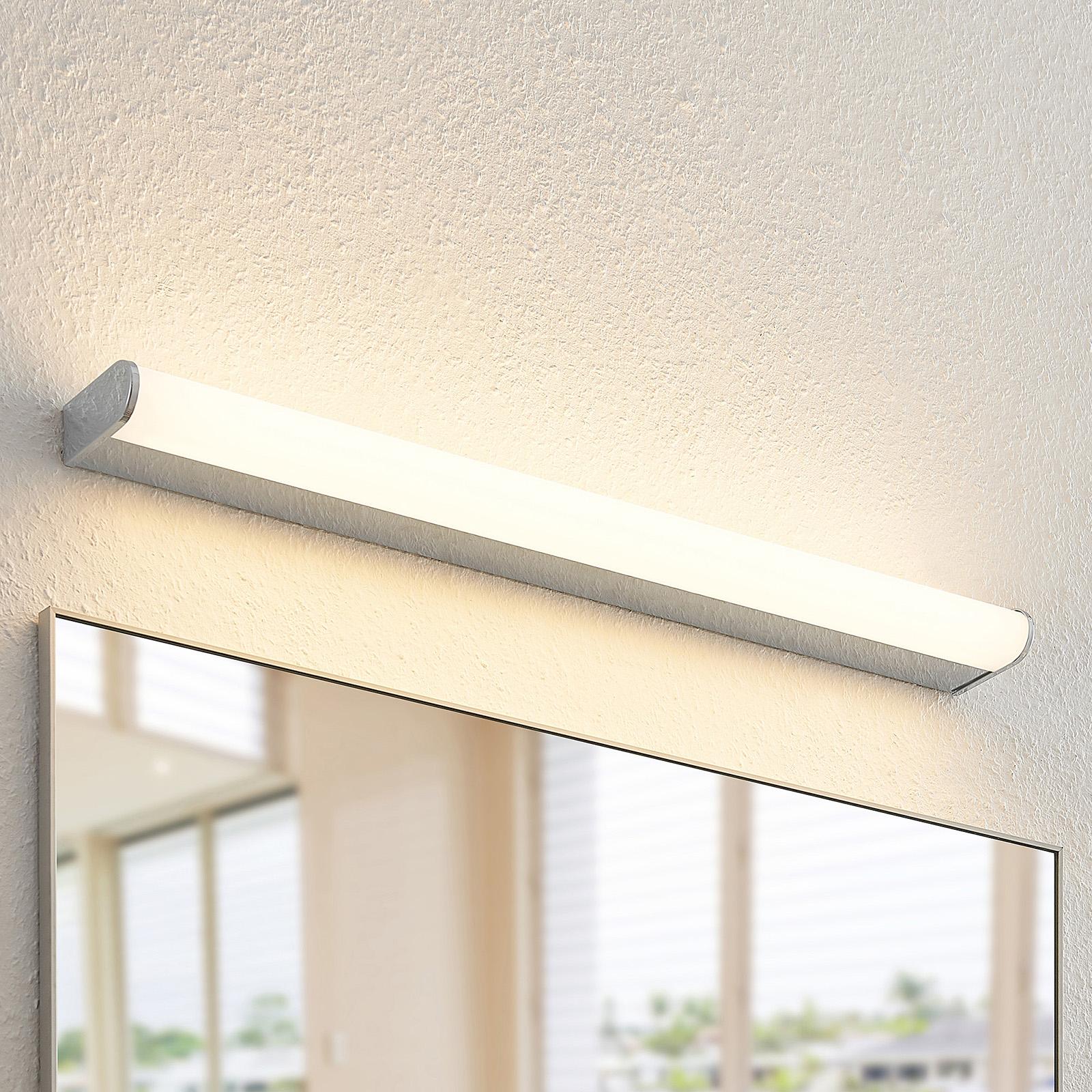 Arcchio Ecaterina LED-Bad-Wandlampe, chrom, 70 cm