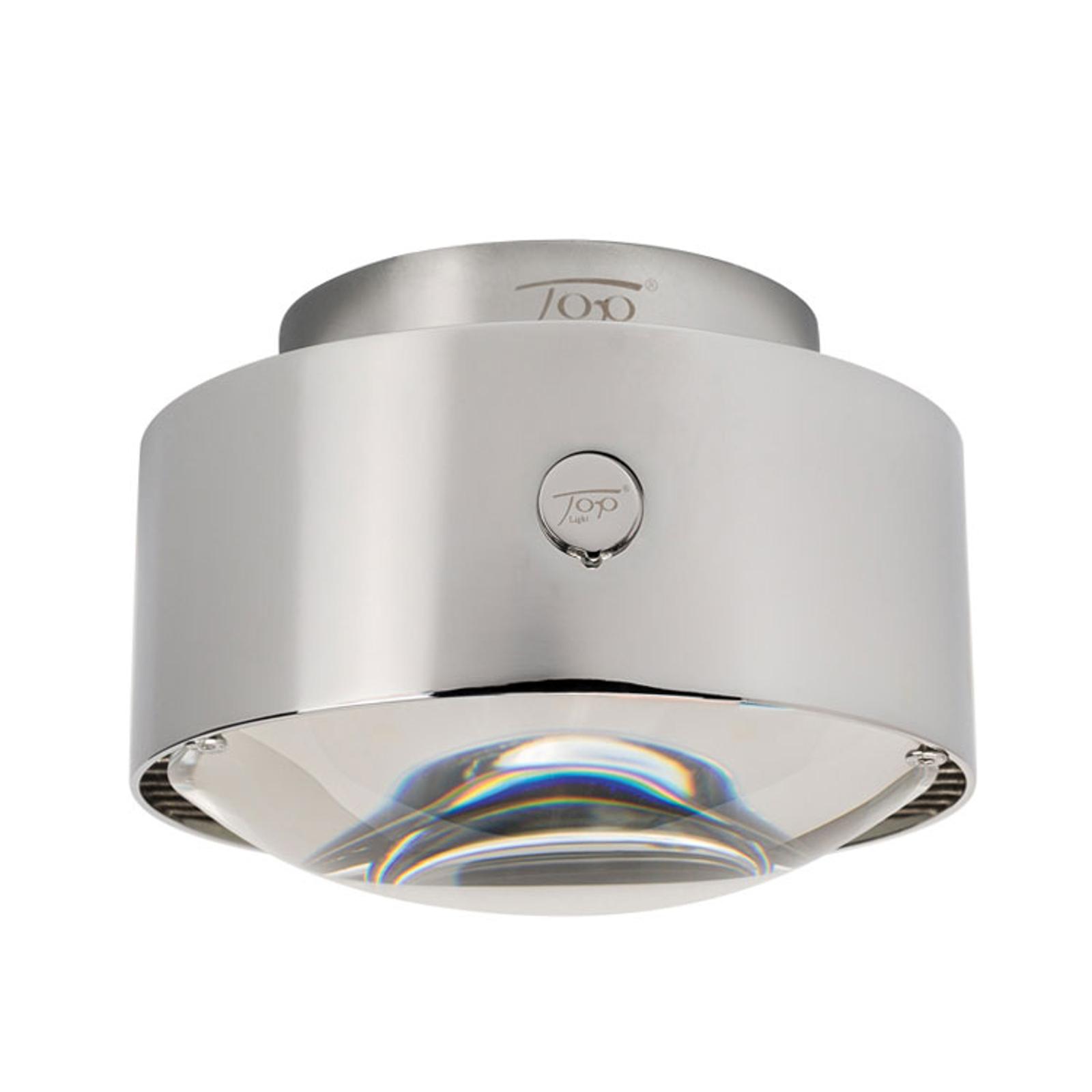 LED-Deckenleuchte Puk Maxx Plus, chrom matt