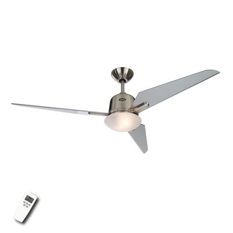 Ventilador de techo Eco Aviatos plateado