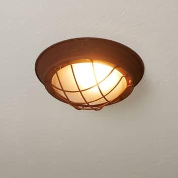 Lámpara de techo Typhoon rústica