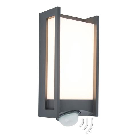 Applique d'extérieur LED Qubo avec détecteur