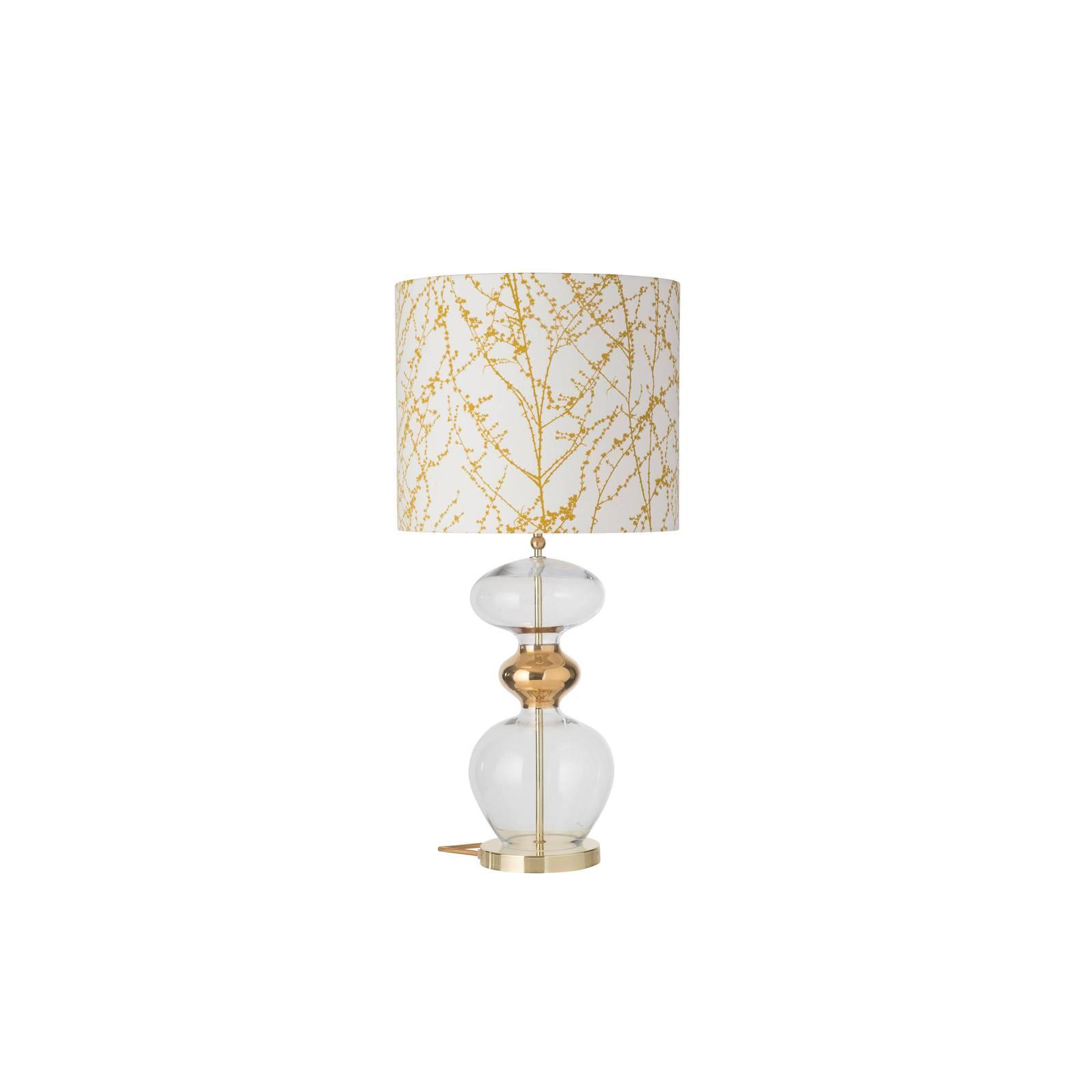 EBB & FLOW Futura lampe à poser, ochre/gold