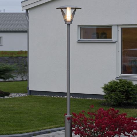 Lampadaire en inox LARISSA avec un look moderne