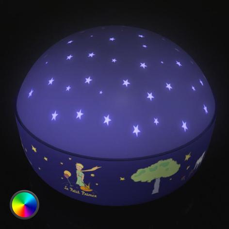 Vakker nattlampe Den Lille Prinsen med LED-lys