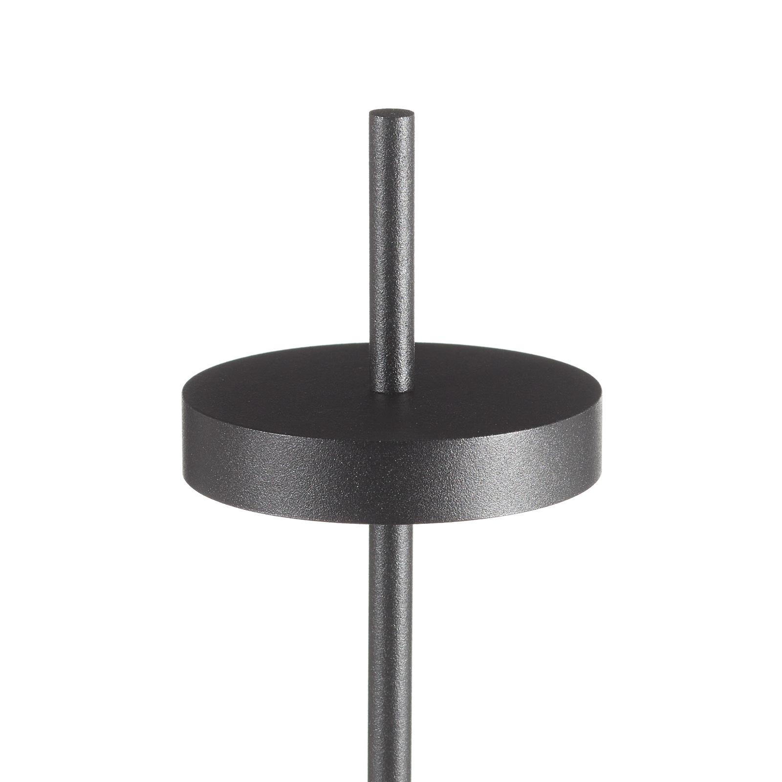 LOUM Scave LED tafellamp sensor-dim voet wit
