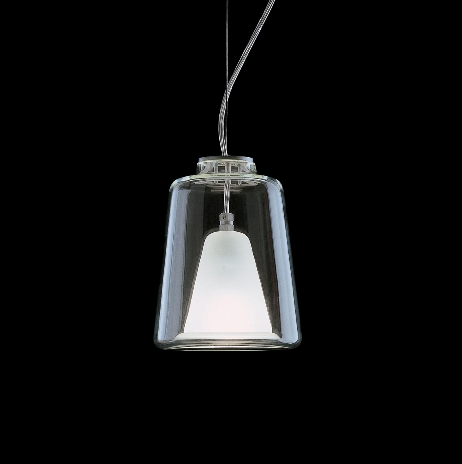 LANTERNINA - lampa wisząca ze szkła Murano