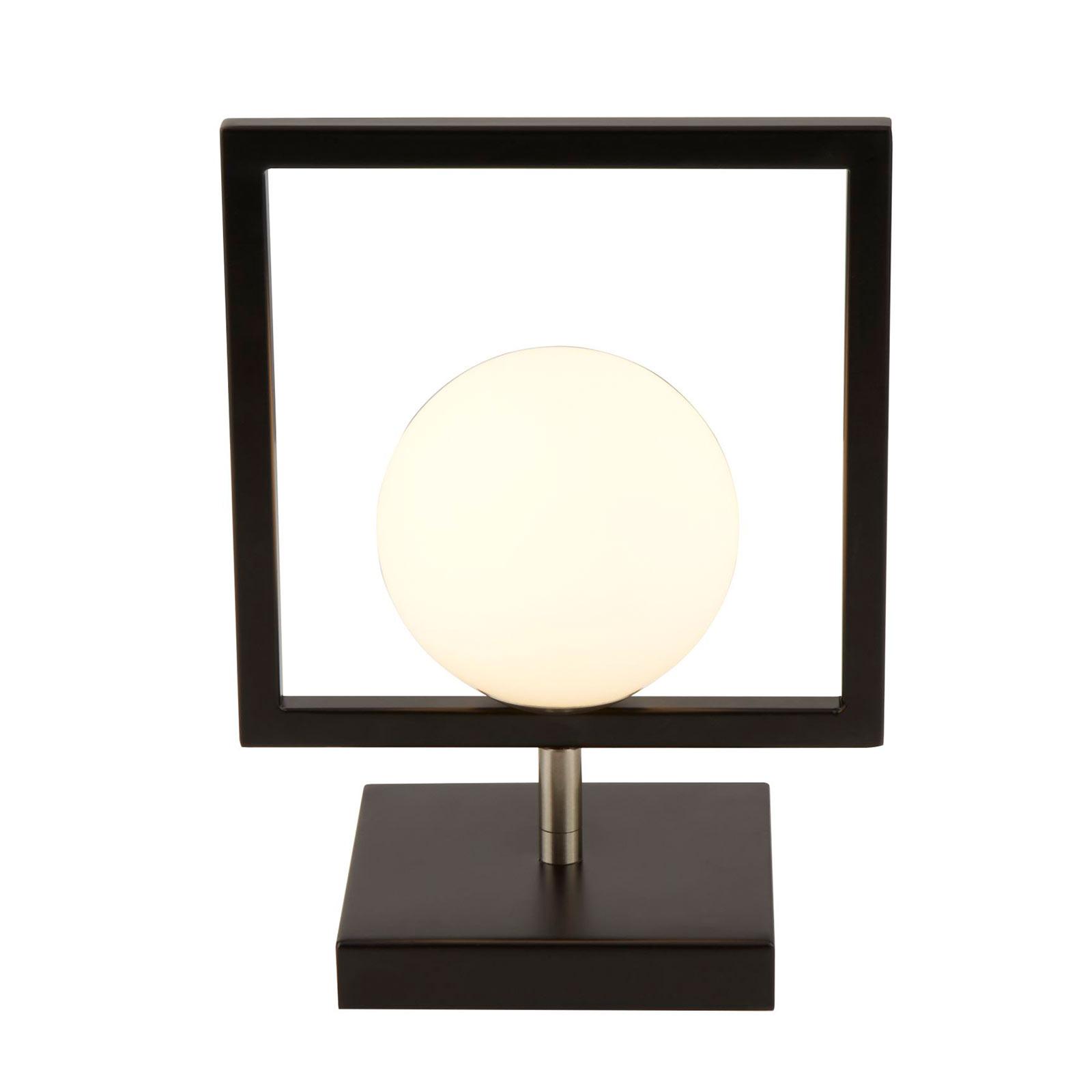 Lampe à poser Rosewell avec sphère de verre