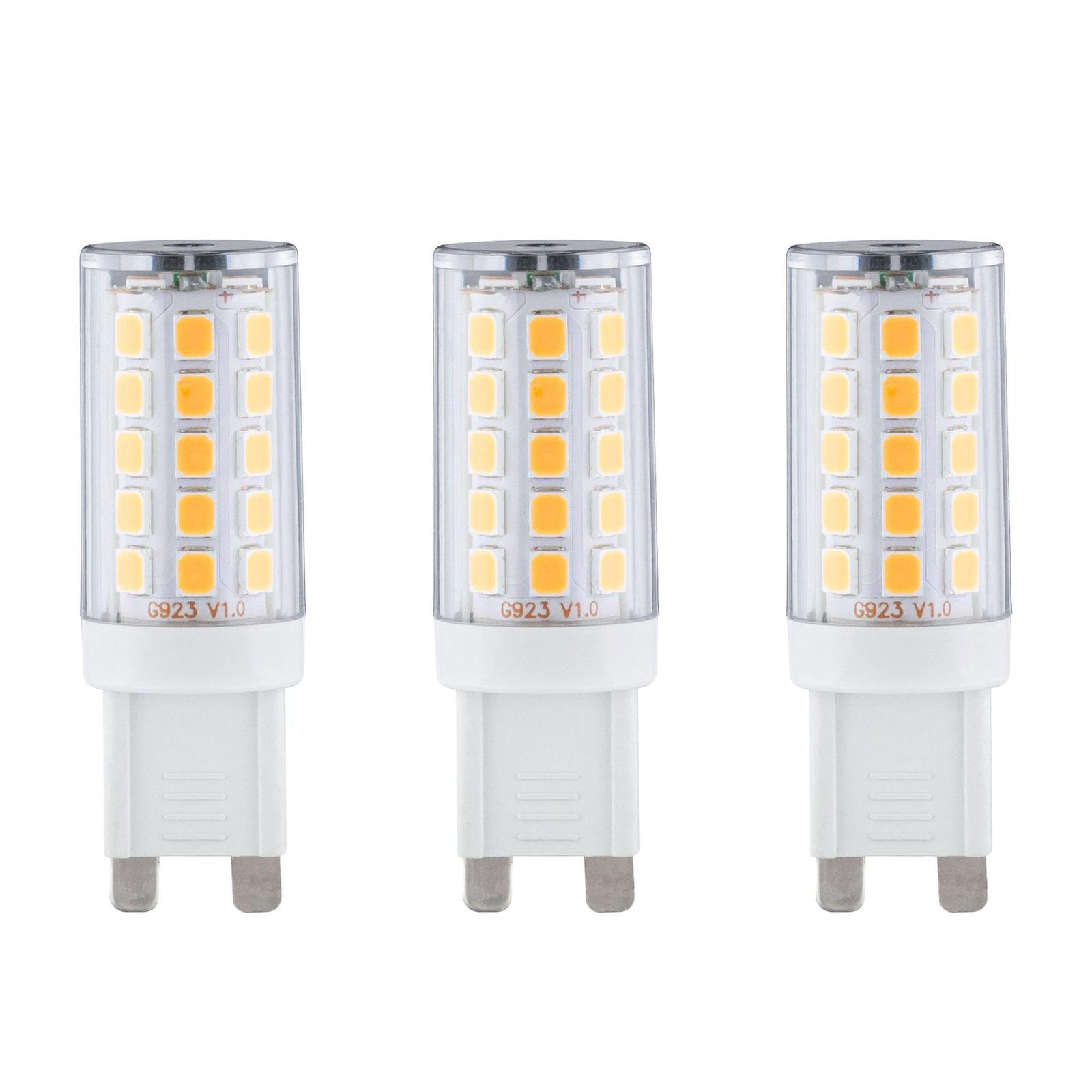 Paulmann LED-Stiftsockellampe G9 2,2W 2.700K, 3er