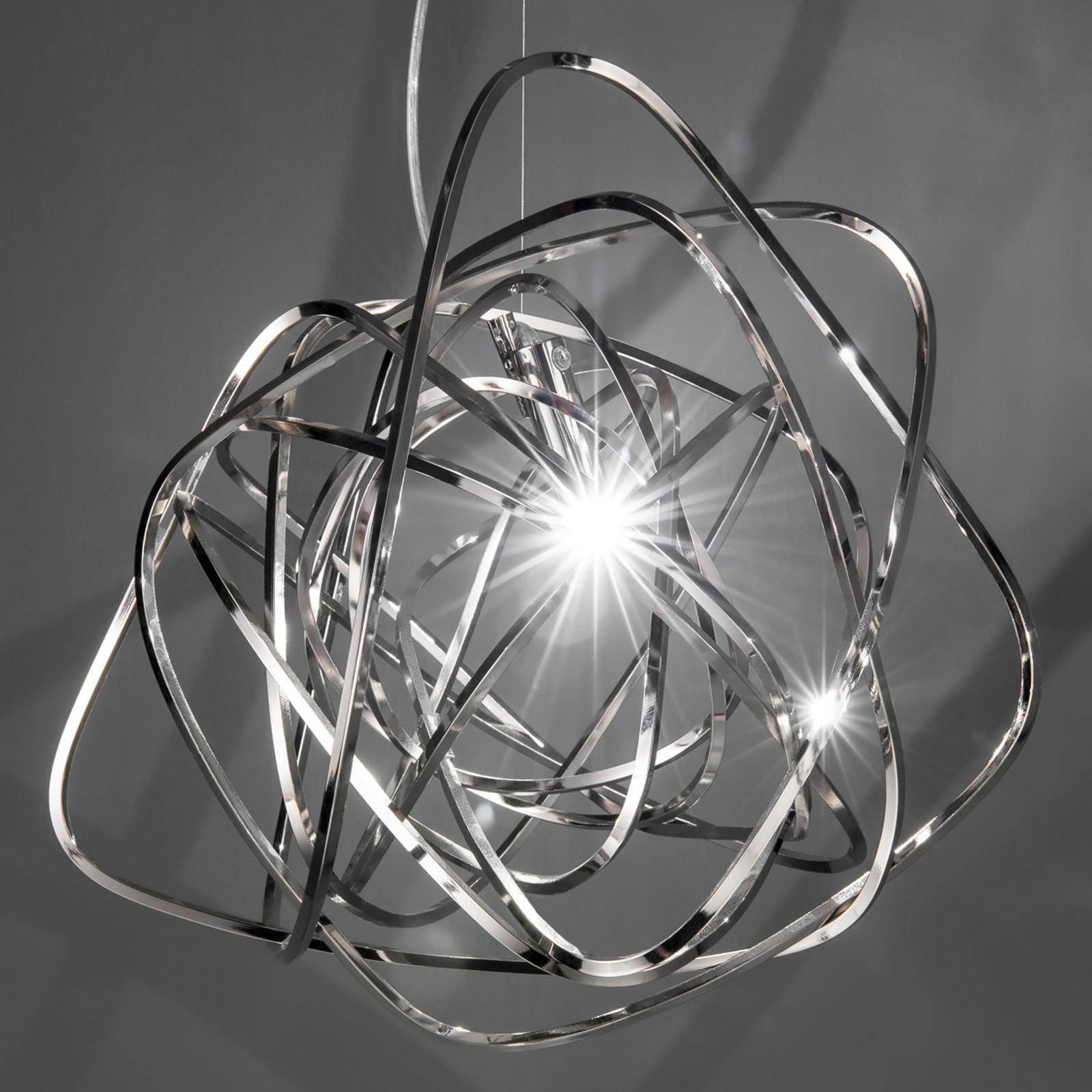 Terzani Doodle -ręcznie wykonana lampa wisząca LED