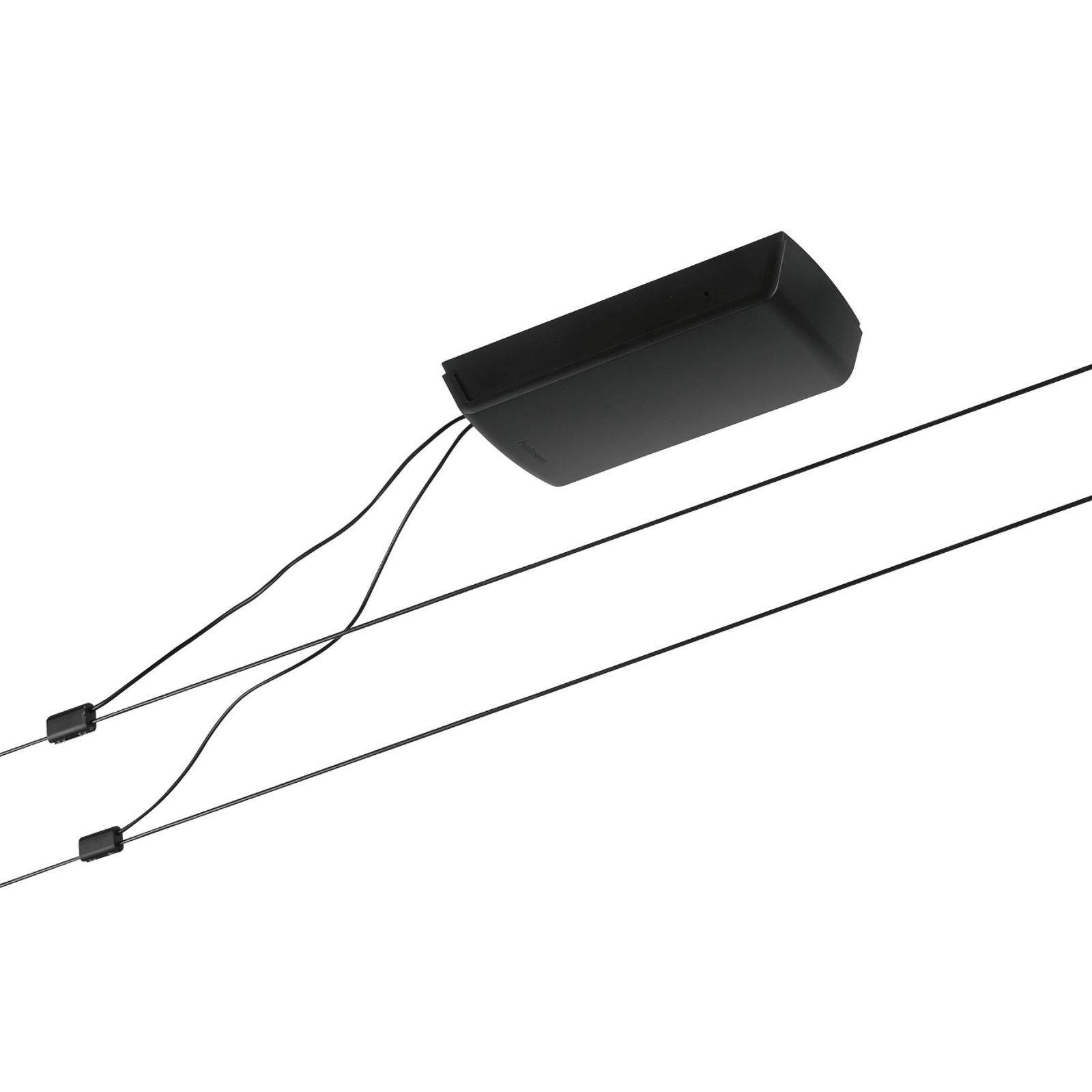 Paulmann Wire Basic-Set Seil ohne Leuchten schwarz