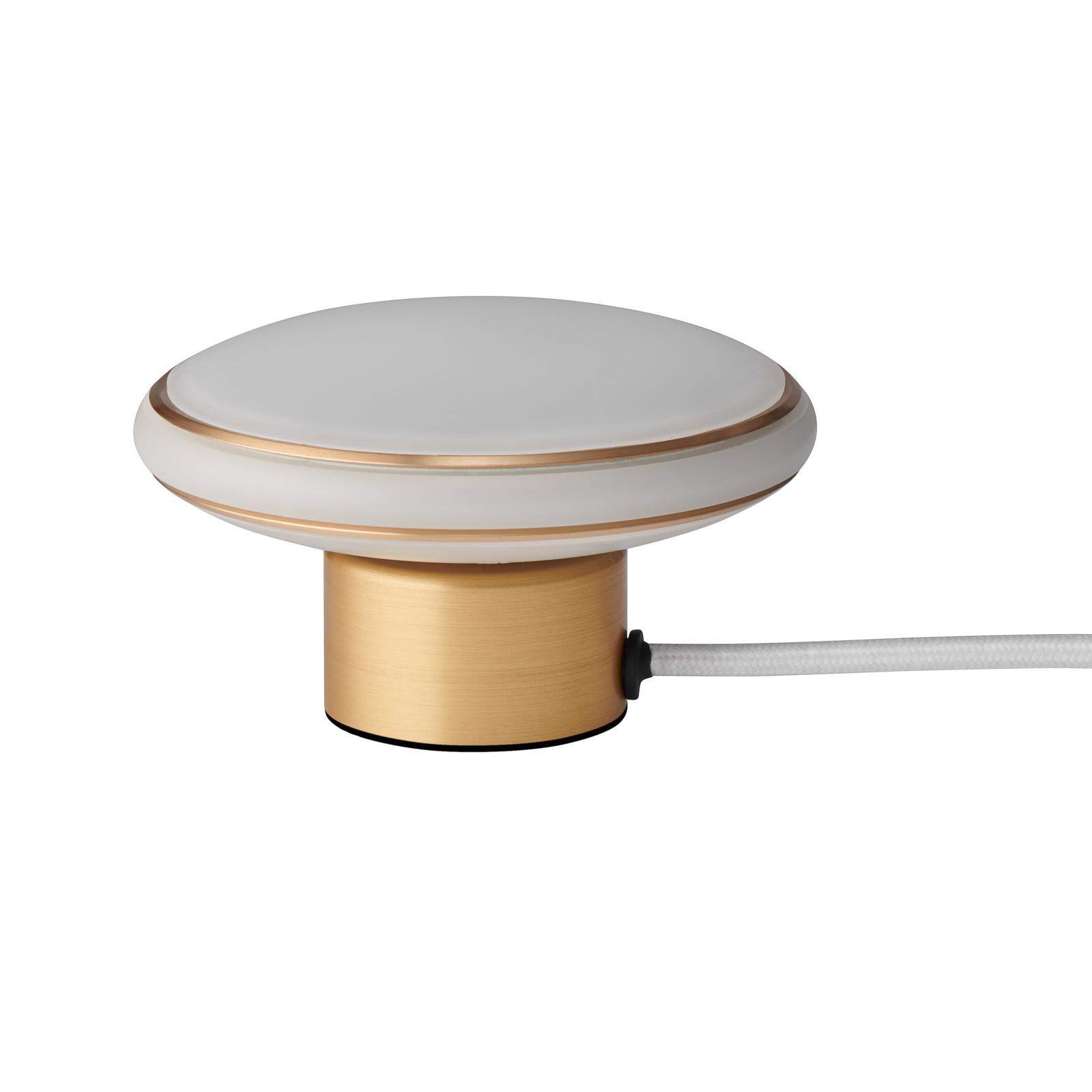 Shade ØS1 mini bord ringer messing kabel hvit