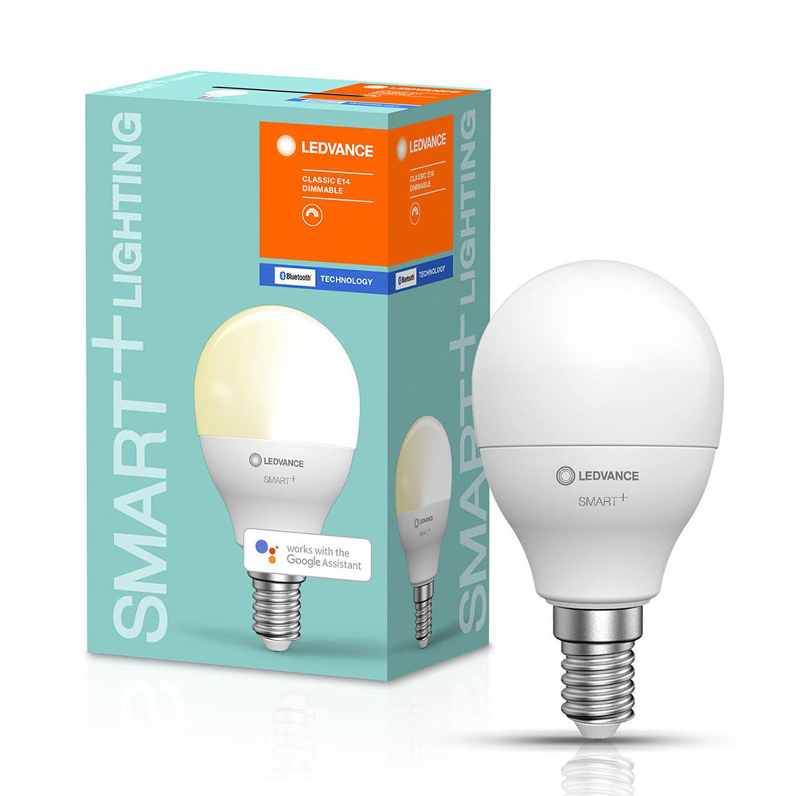 LEDVANCE SMART+ Bluetooth E14 LED dråpe 5W 827