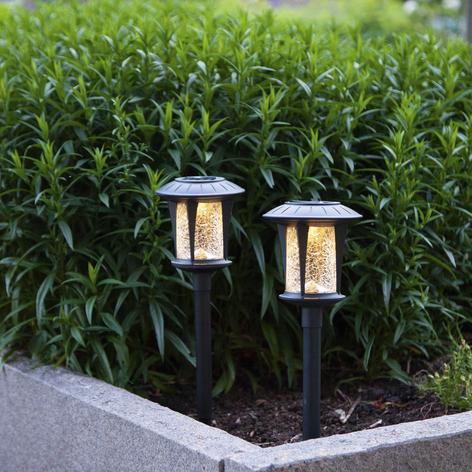Lámparas LED solares Mónaco en set de 2