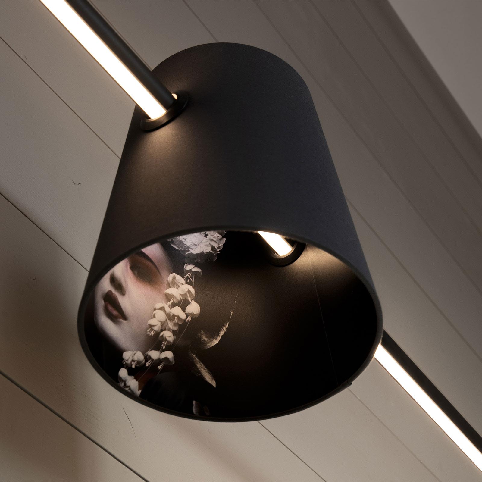 Karman Cupido skjerm for LED-pendell. i bjelkeform