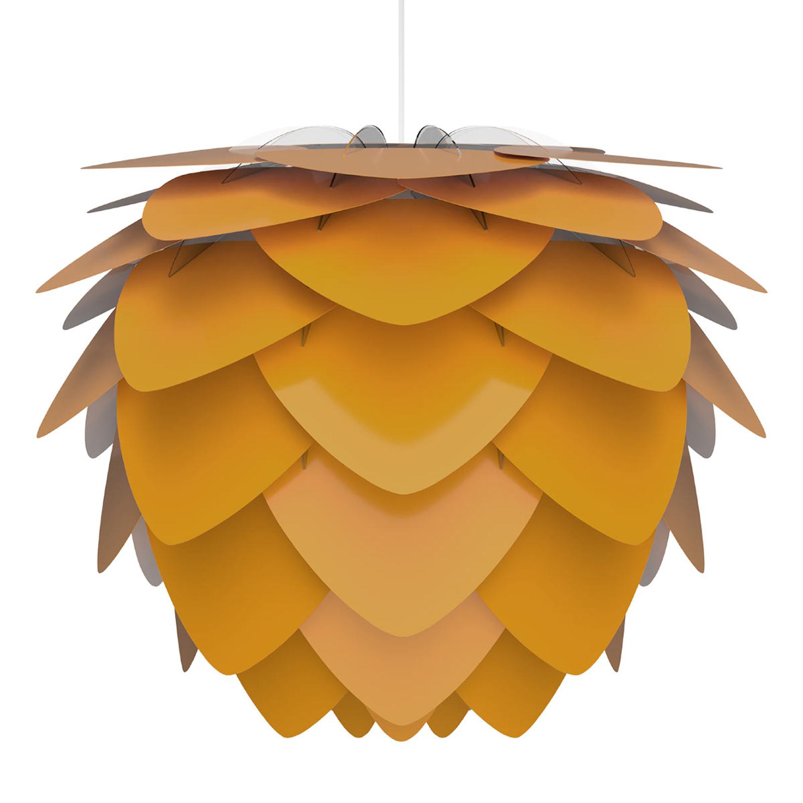 UMAGE Aluvia medium lámpara colgante, amarillo