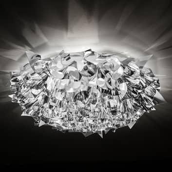 Slamp Veli Large design-plafondlamp Ø78cm zilver