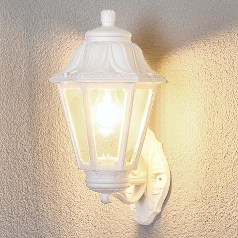 LED-Außenwandlampe Bisso Anna E27 weiß aufwärts