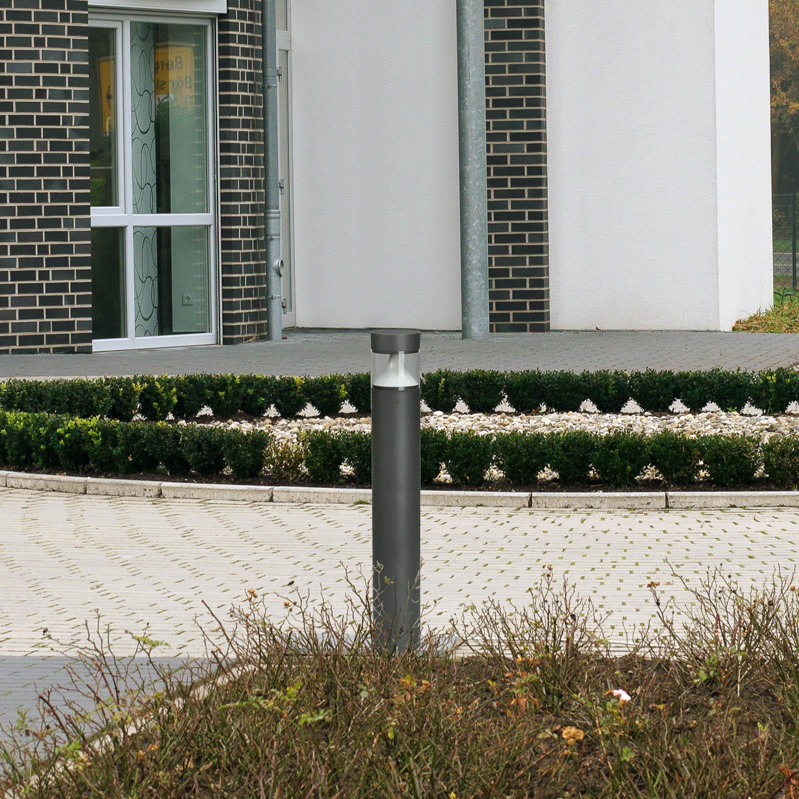 Lampione LED 2275, antracite/trasparente