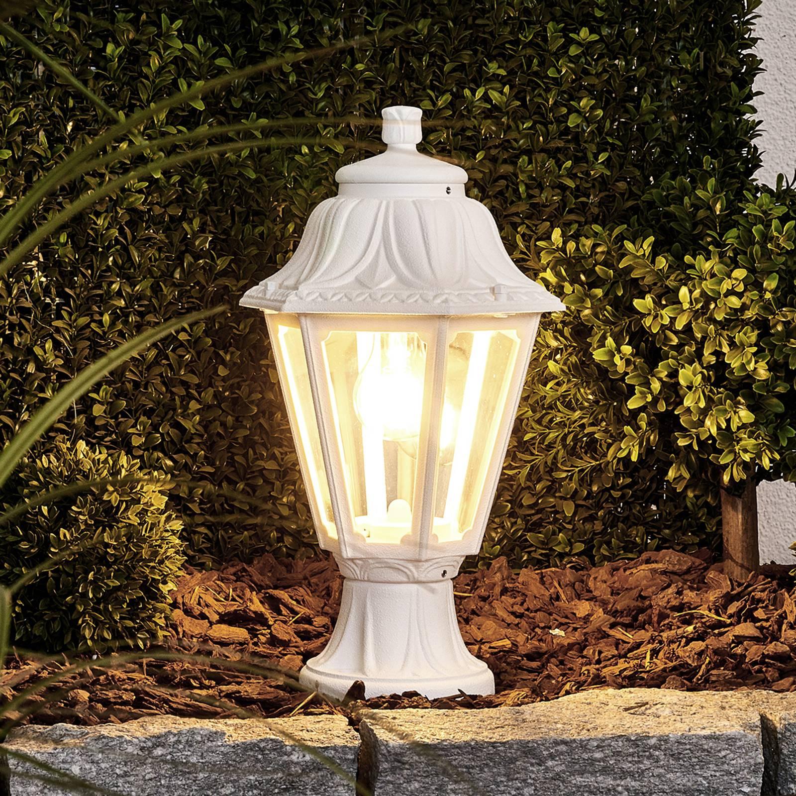 Lampione a LED Mikrolot Anna E27, bianco
