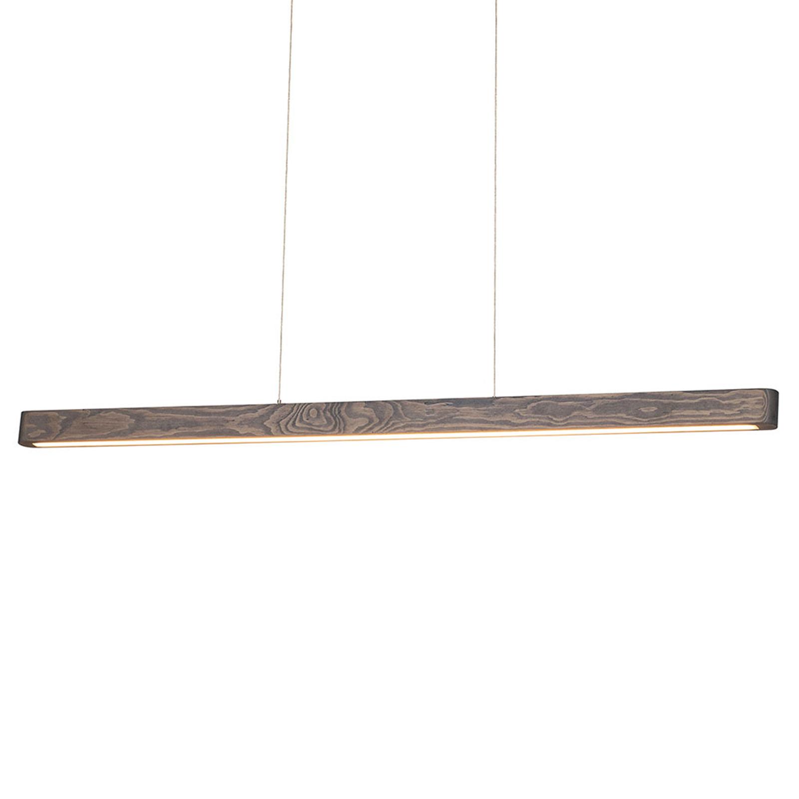 LED-hengelampe Forrestal, 90 cm lang