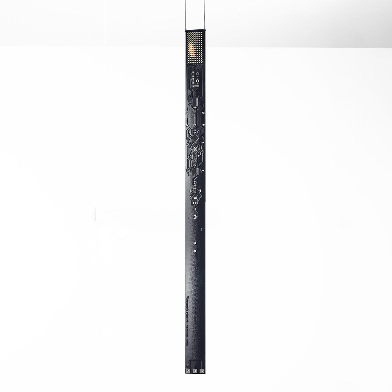 LED design hanglamp One New Flame in zwart