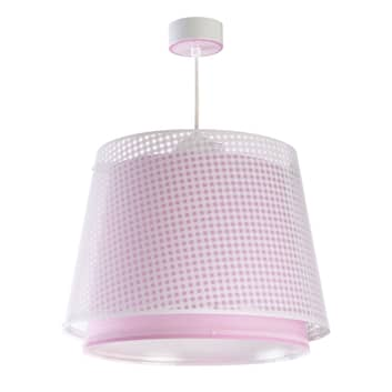 Lámpara colgante infantil Vichy, 1 luz