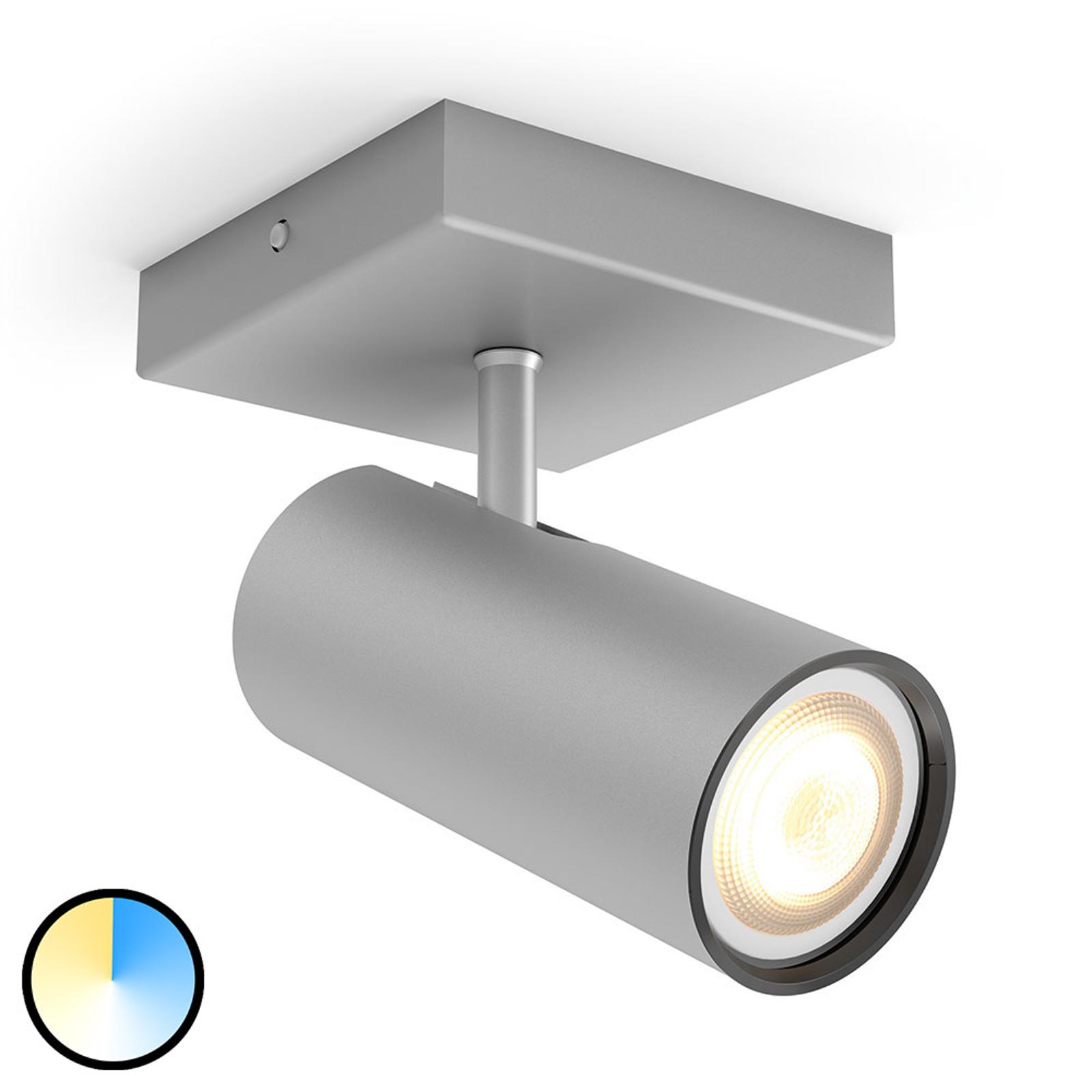 Philips Hue Buratto spot LED alu 1 lampe