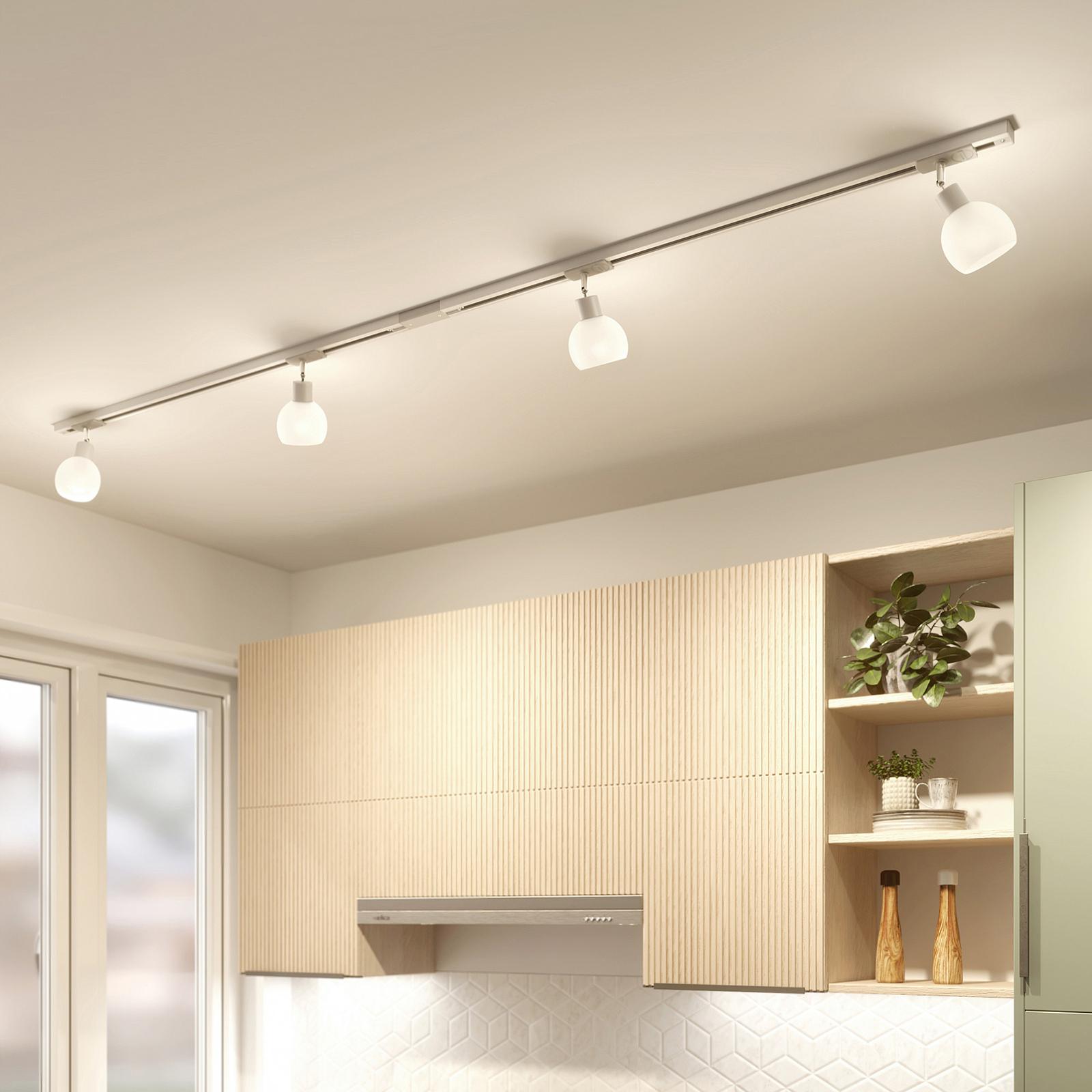 Lindby Jeanit 1-Phasen-LED-Schiene, weiß