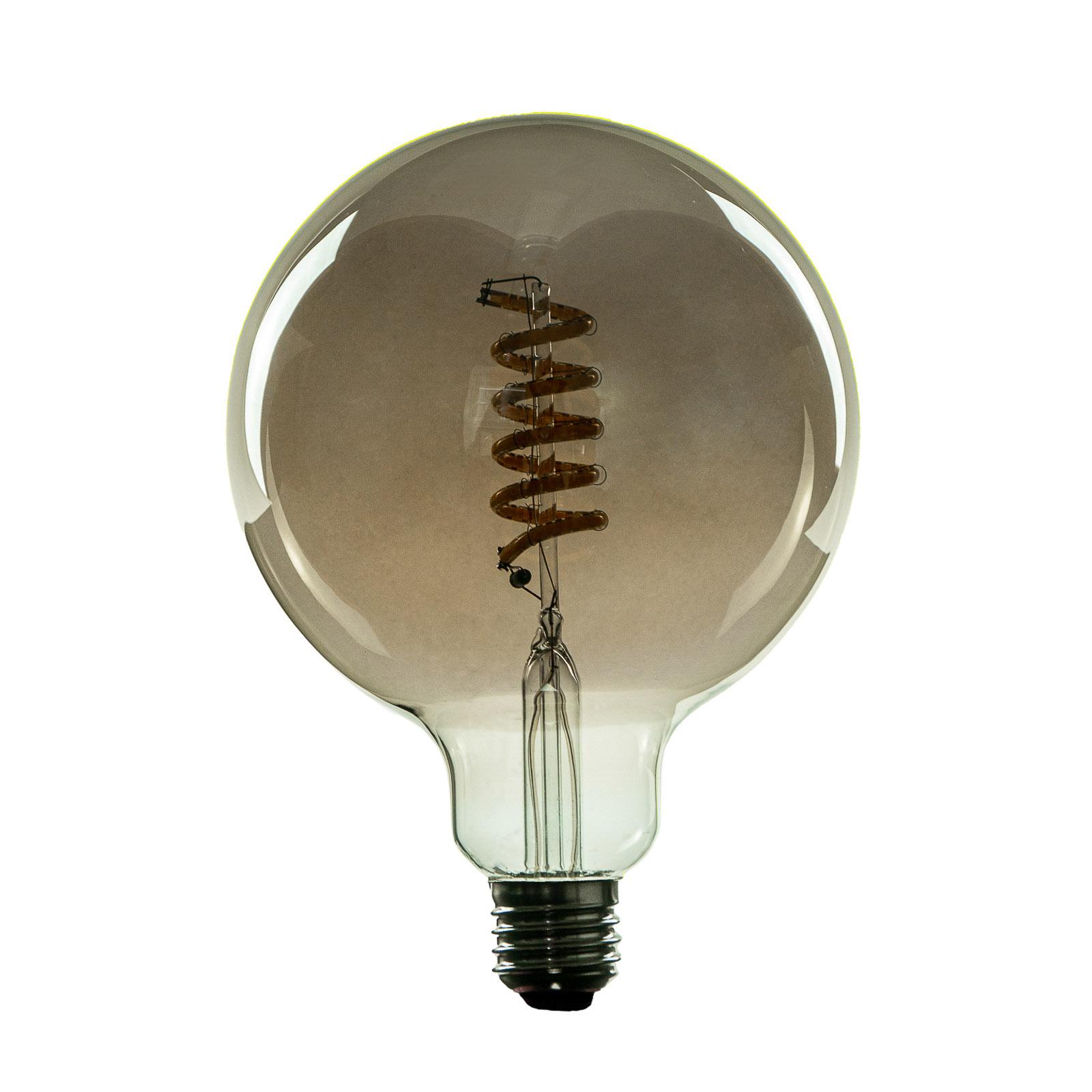 SEGULA LED-Lampe E27 8 W G125 Curved ambient smoke