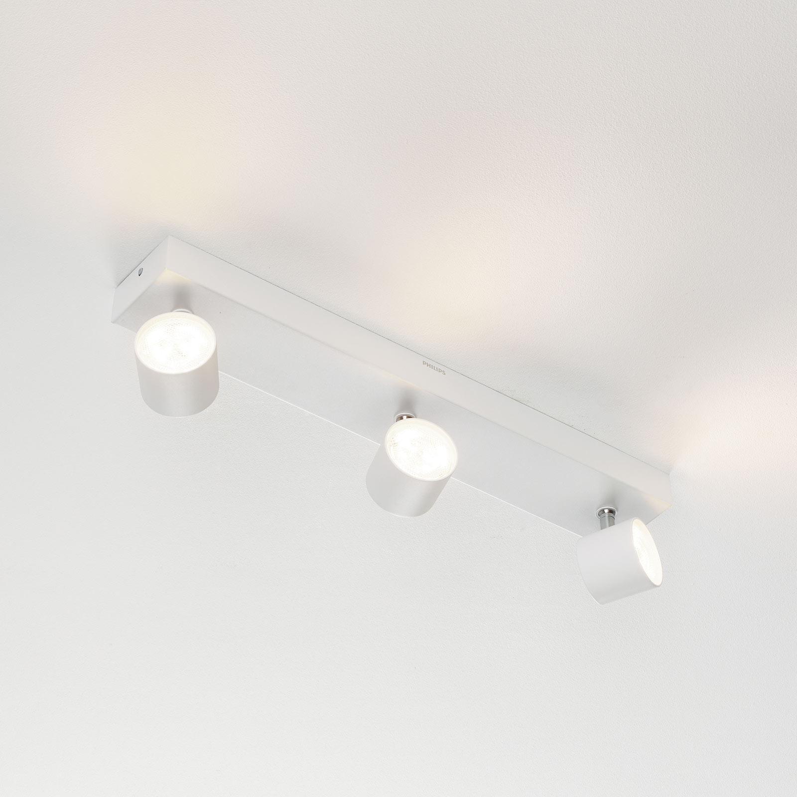 Philips Star LED-Strahler weiß 3flg. WarmGlow