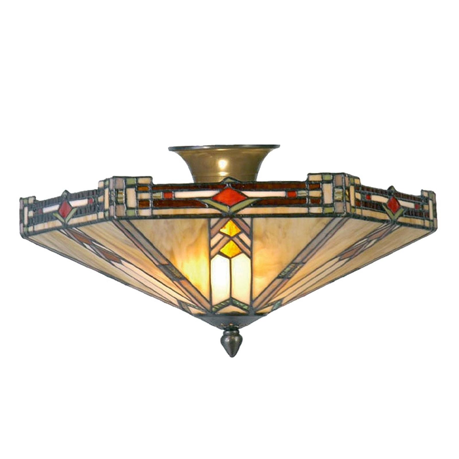 Moderne taklampe Madison i Tiffany-stil