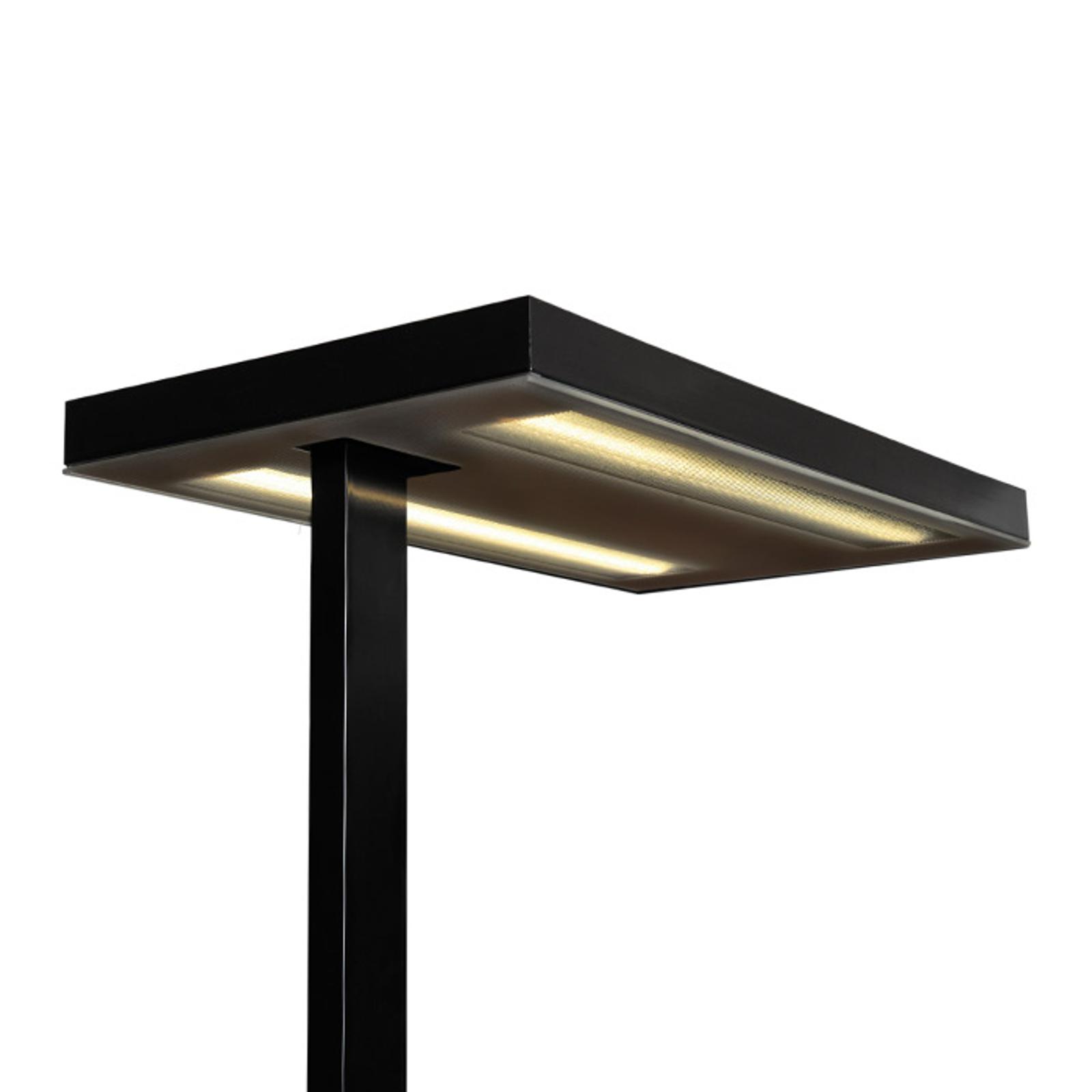 Vloerlamp Free-F LED10000 HFDd 840 SD zwart