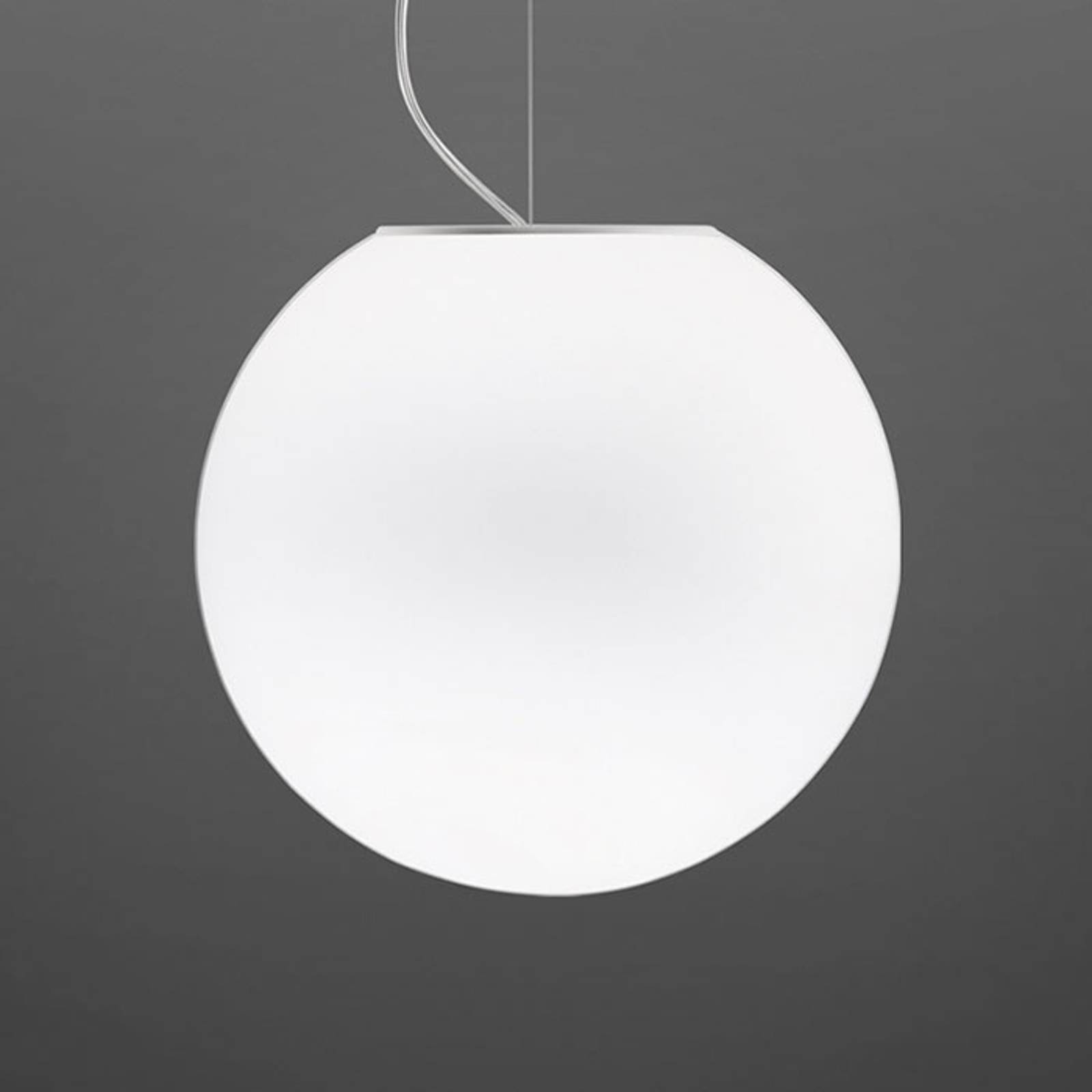 Fabbian Lumi Sfera glazen hanglamp, Ø 35 cm