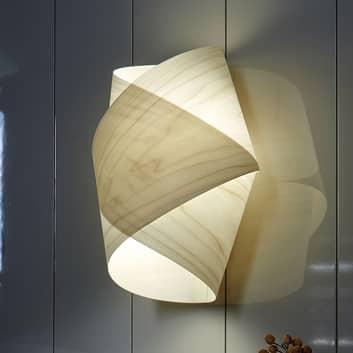 LZF Orbit nástěnné světlo z dřevěné dýhy