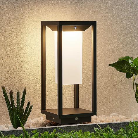 Lucande Eliel lampioncino LED solare, 34 cm