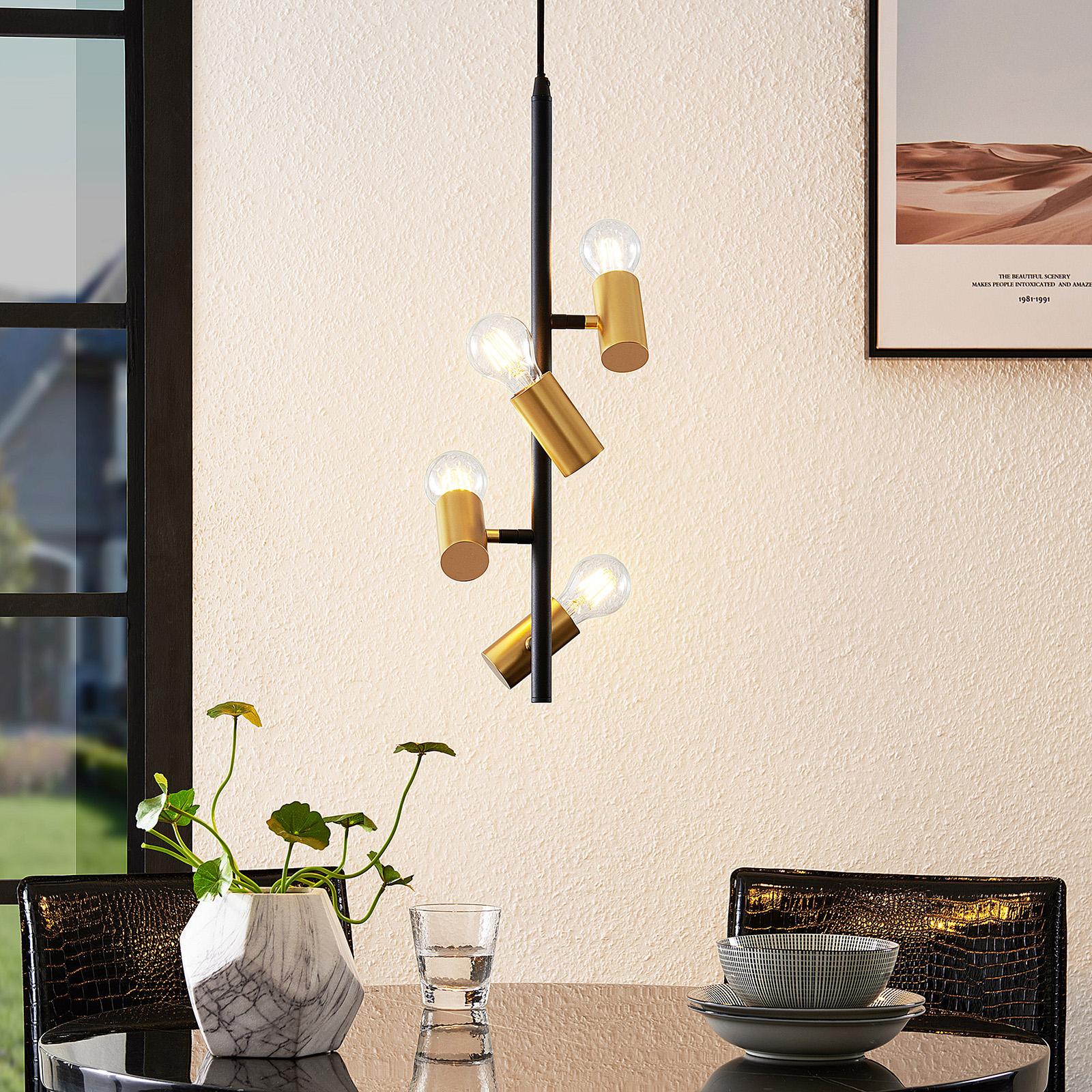 Lindby Idis suspension, à 4 lampes