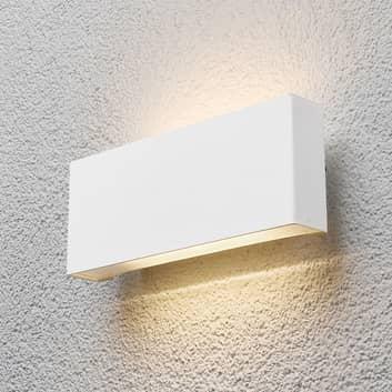 Applique da esterno Safira a LED in bianco