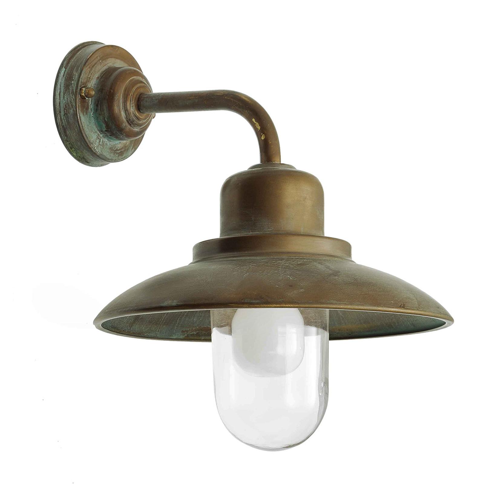 Patineret gammel-messing - udendørslampen Susa
