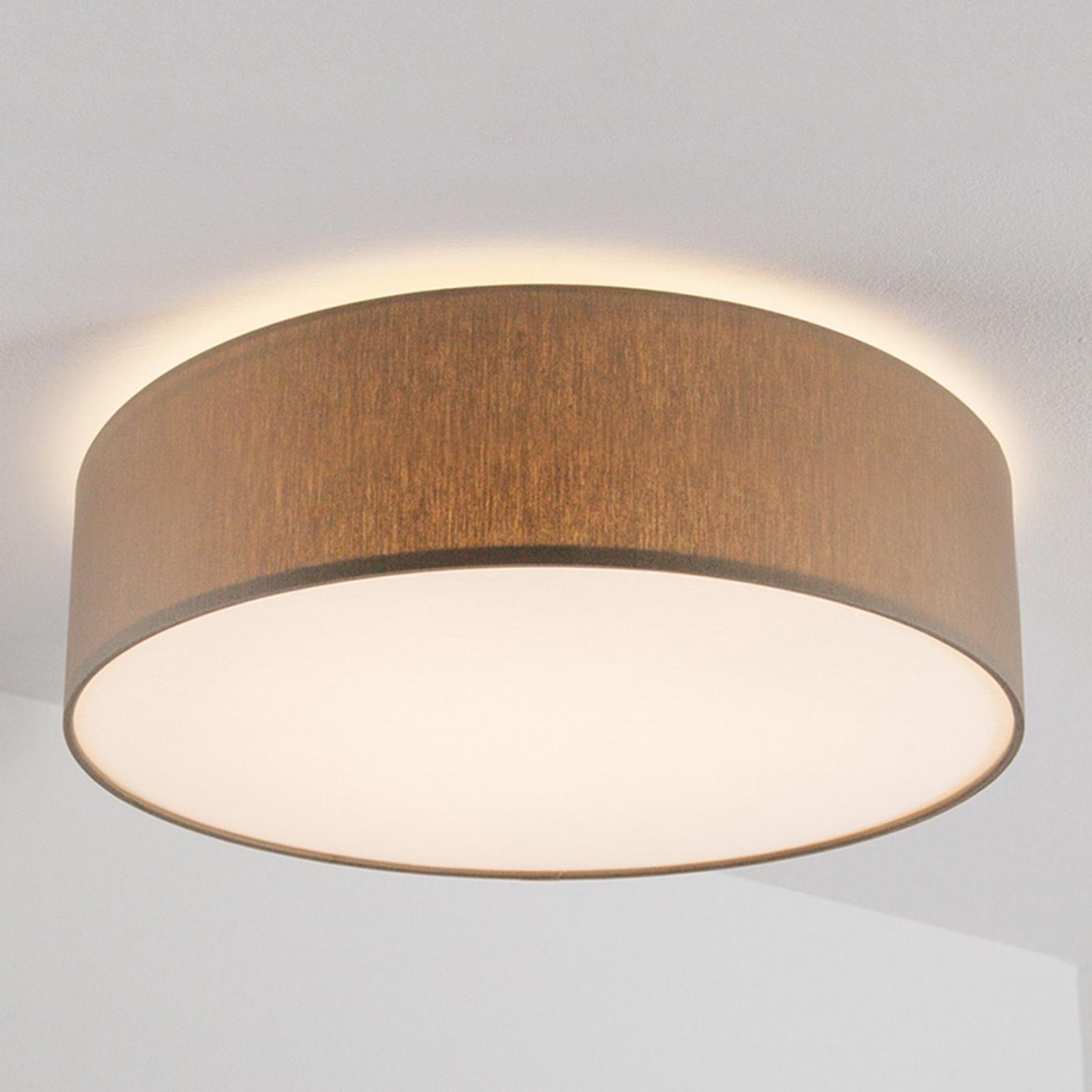 Szarobrązowa lampa sufitowa MARA, 60 cm