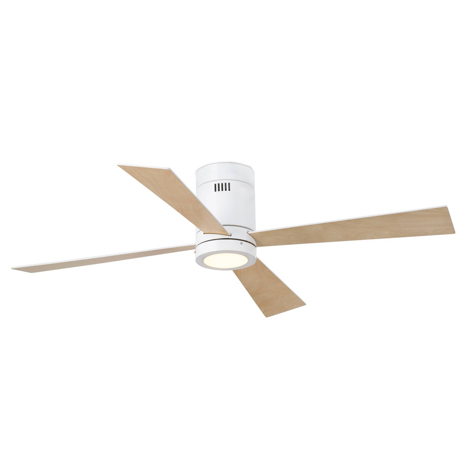 Timor four-blade ceiling fan with LED